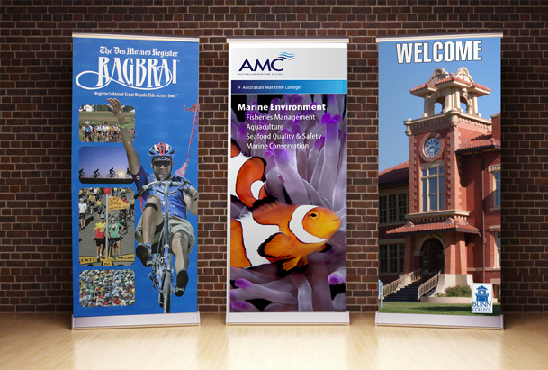 Custom Banner Stands