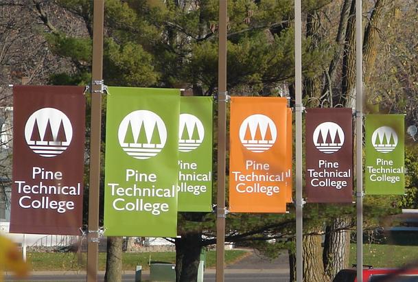 Custom Printed Street Pole Banners