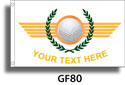 Custom Golf Flag GF80